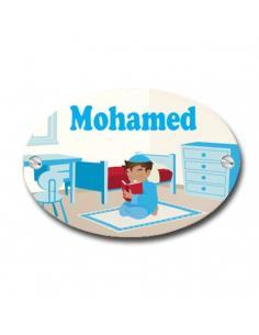 plaque de porte decoration enfant islam musulman