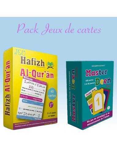 Pack Jeux de cartes Master deen / Hafizh al quran