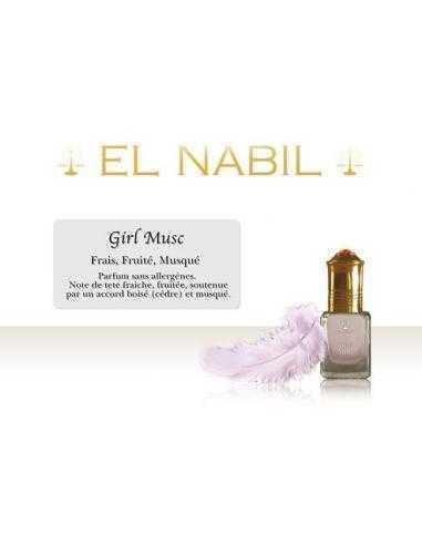 Parfum girl musc El Nabil pour bébé
