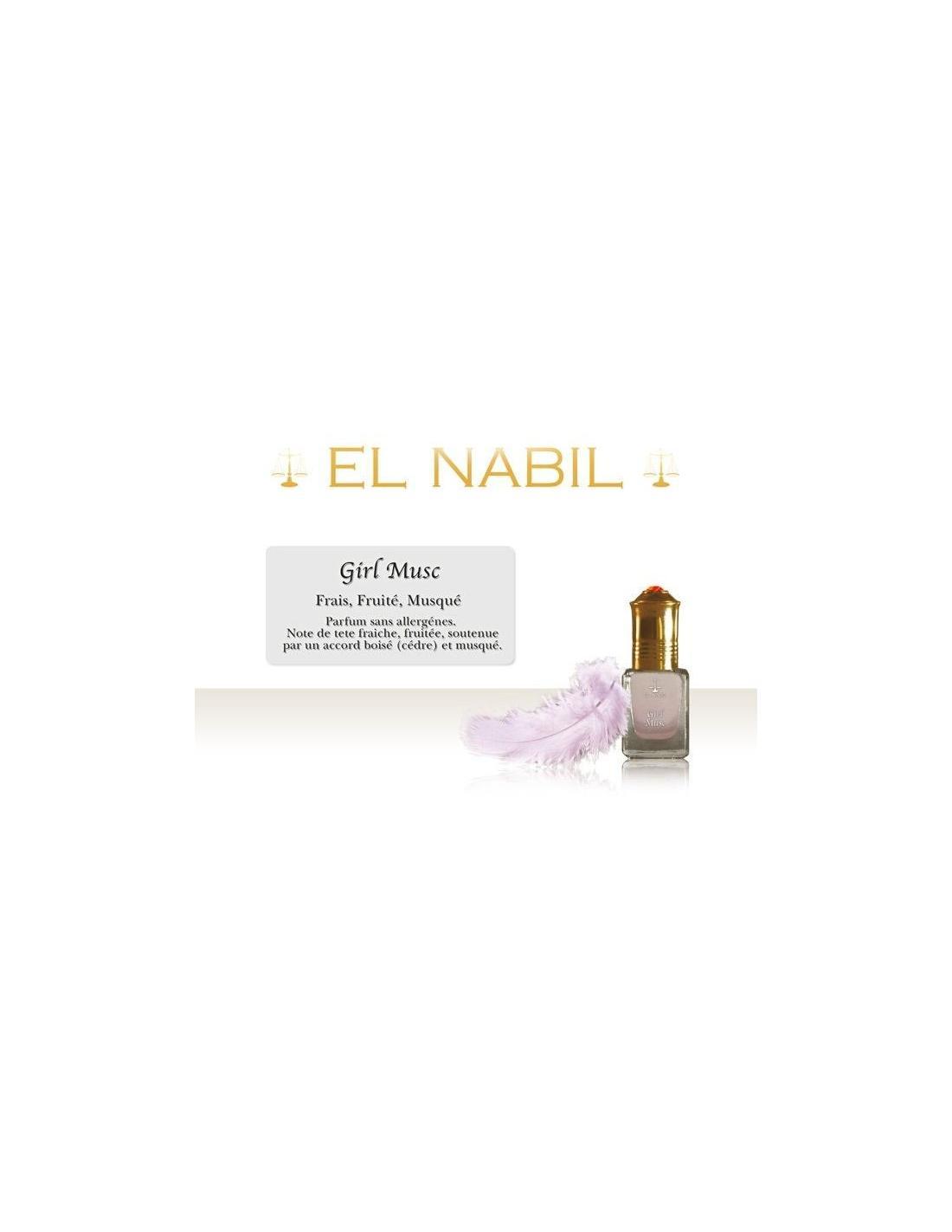 parfum girl musc el nabil pour b b parfum girl musc pour b b san. Black Bedroom Furniture Sets. Home Design Ideas