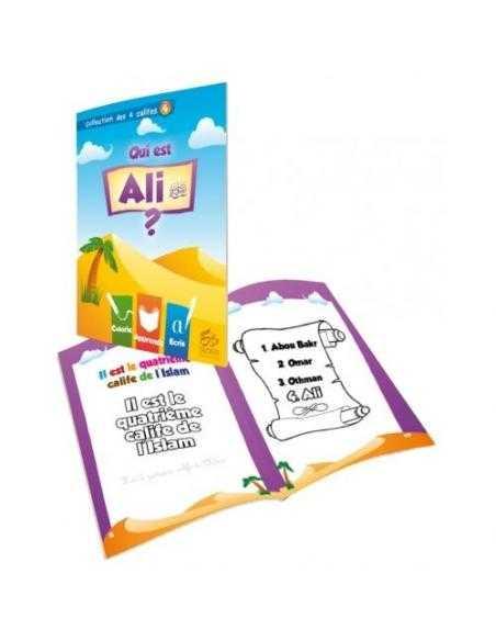 Coloriage: Qui est Ali?