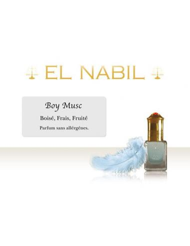 Parfum Boy musc El Nabil pour bébé