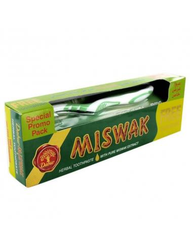 Dentifrice Miswak + brosse à dent offerte