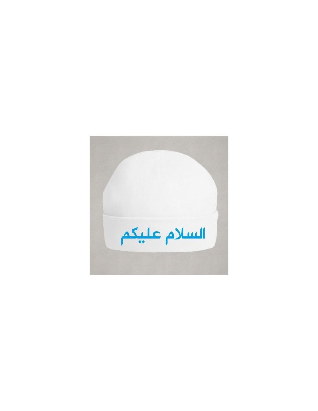 Salam aleykoum bonnet  en arabe