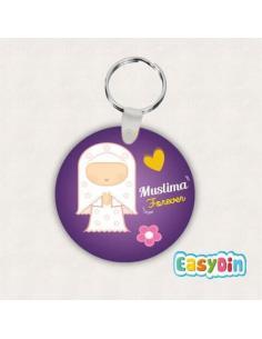 Porte clés Muslima Forever