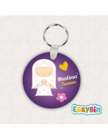"""Porte clés """"Muslima Forever"""""""