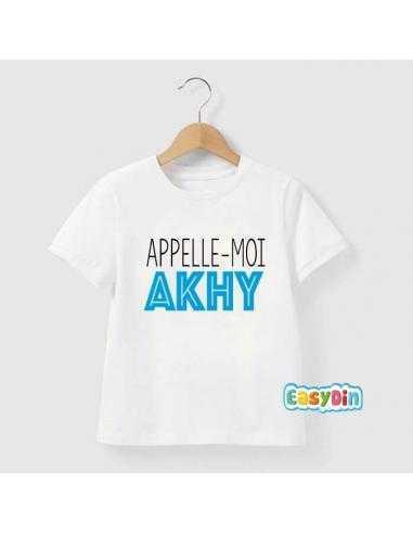 Tee shirt Appelle-moi akhy