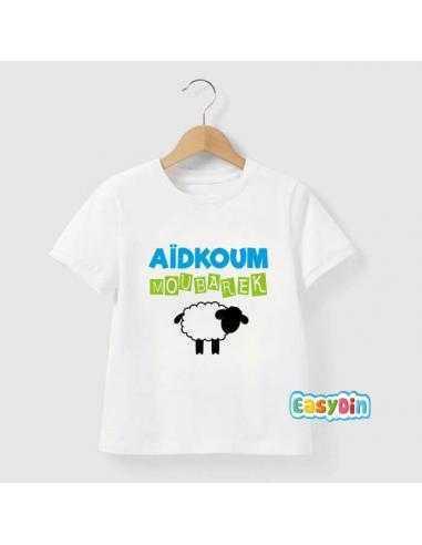 """Tee shirt enfant """"Aïd Koum Moubarek"""""""