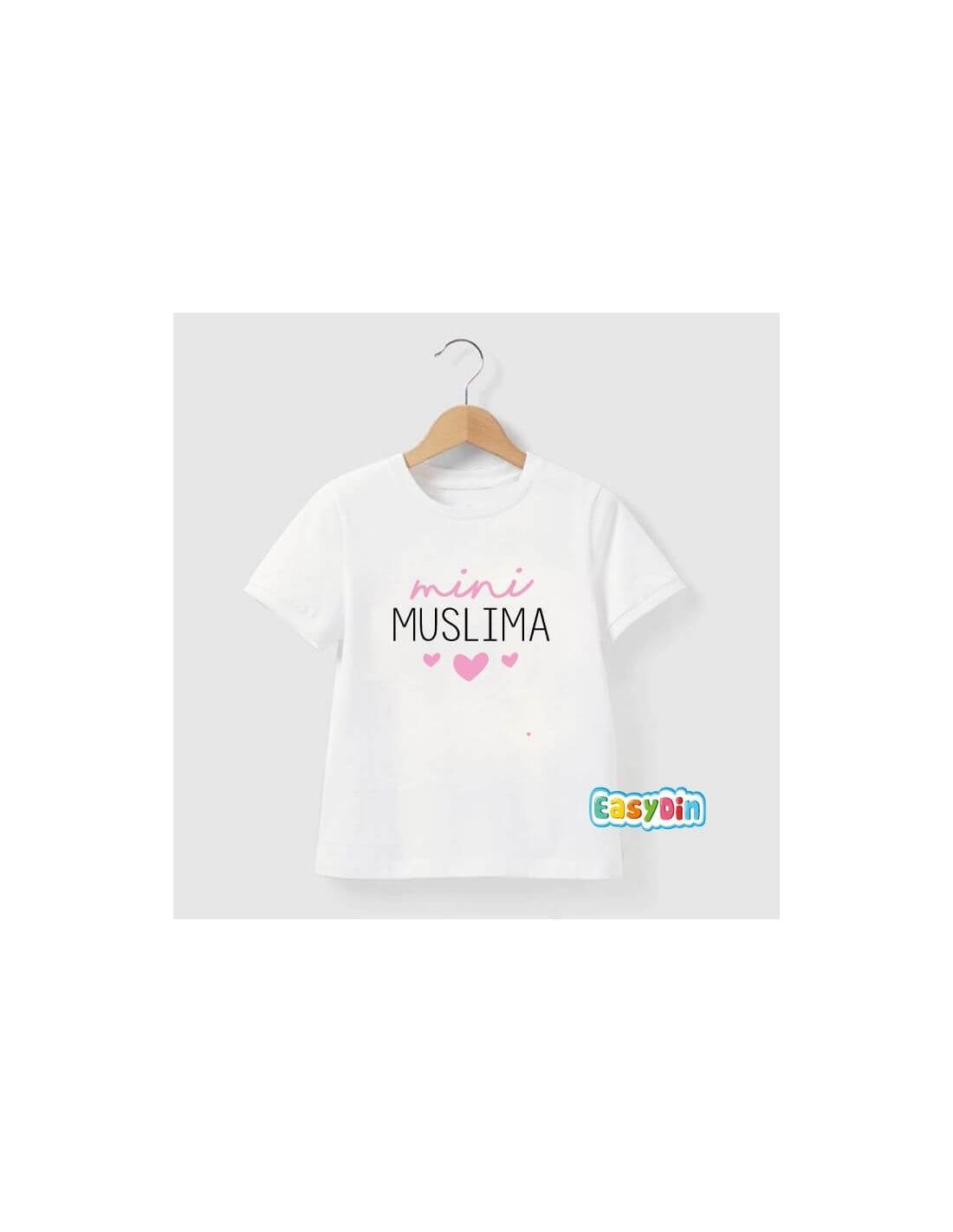 mini muslima tee shirt enfant musulmane