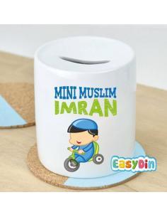 "Tirelire personnalisée ""Mini Muslim"""