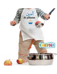 Tablier enfant personnalisé Le Pâtissier