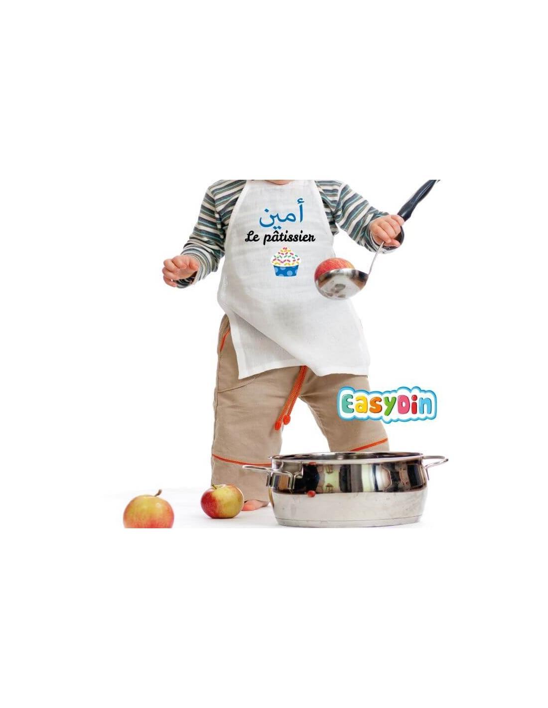 """Tablier enfant personnalisé """"Le Pâtissier"""""""
