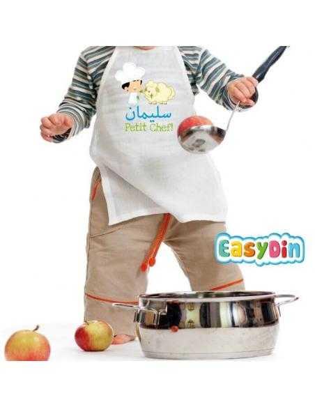 """Tablier enfant personnalisé """"Petit Chef"""""""