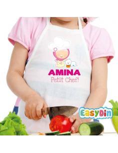 Tablier enfant personnalisé Petit Chef