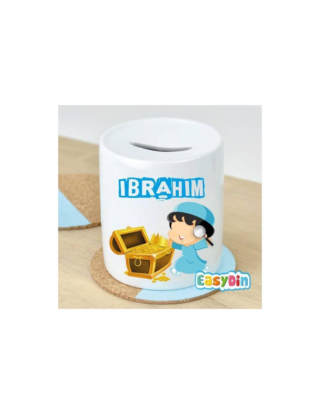 Cadeau enfants Tirelire Petit Muslim trésor