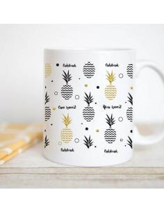Mug personnalisable ananas