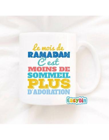 """Mug Ramadan """"Moins De Sommeil"""""""