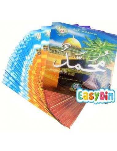 Pack 24 livres : L'authentique des histoires des prophètes (version arabe) - من صحيح قصص الأنبياء