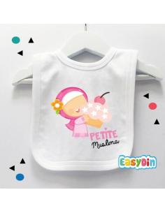 "Bavoir bébé ""Petite muslima"""