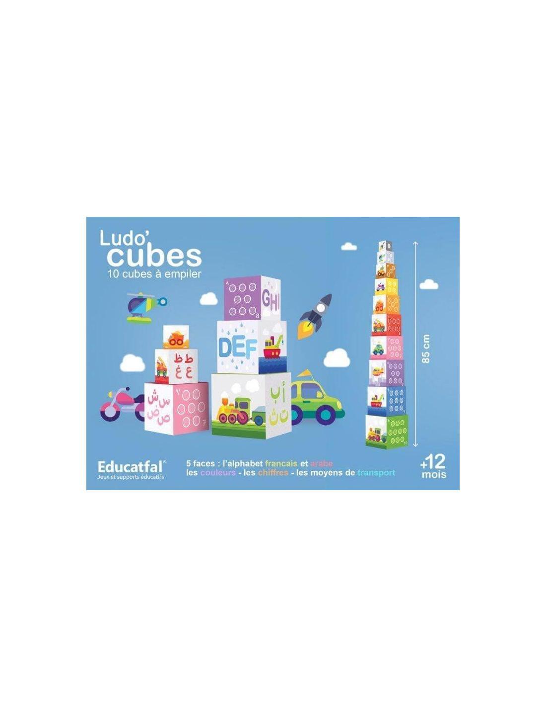 Ludo'cubes arabe/Français