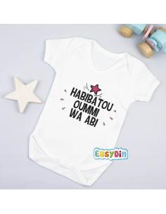 "Body bébé ""Habibatou oummi wa abi"""