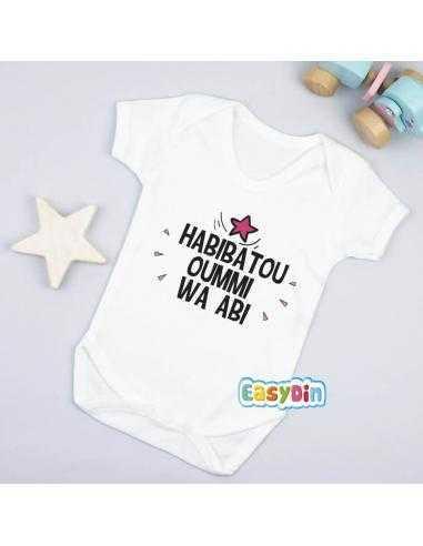 "Body bébé ""Habibatou Oummi"""