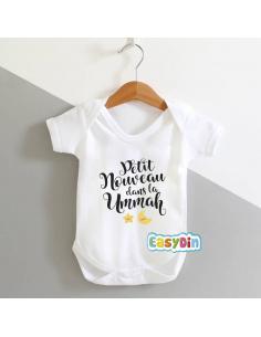 """Body bébé """"Nouveau dans la ummah"""""""
