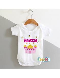 """Body bébé personnalisé """"masjid"""""""