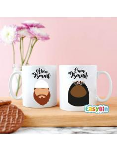 "Vie conjugale en islam Mug duo kounya ""abou et oum"""