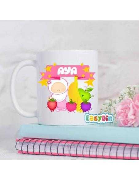 Mug personnalisé multifruits