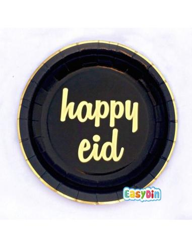 "Assiette à dessert ""Happy Eid"""