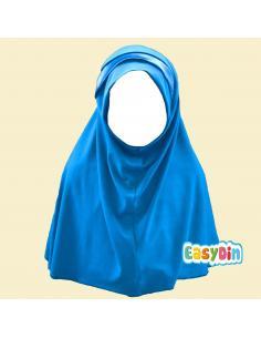 Hijab Enfant bleu éléctrique