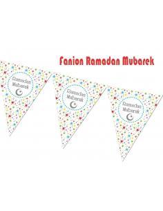 Fanion Ramadan Mubarak
