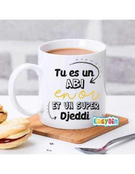 """Mug """"Tu es un Abi en or"""""""