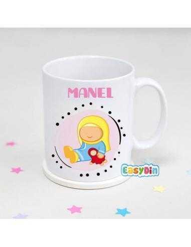 Mug personnalisé Petite Muslima Poupée
