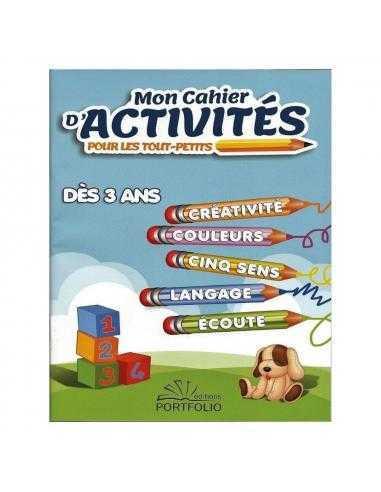 Cahier d'activité pour tout-petits