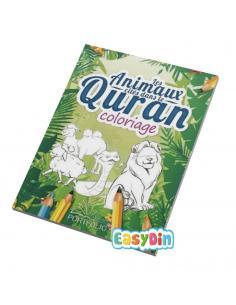 Livre de coloriage : Les animaux cités dans le  coran