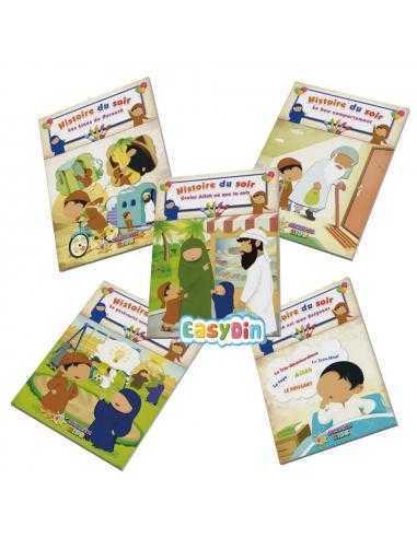 Pack 5 livres Histoires Du Soir