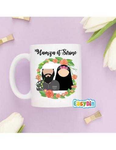 Mug personnalisé couple