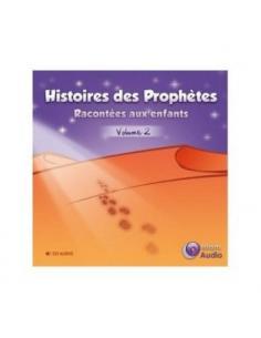 Histoires des prophètes racontées aux enfants (CD AUDIO) volume 2