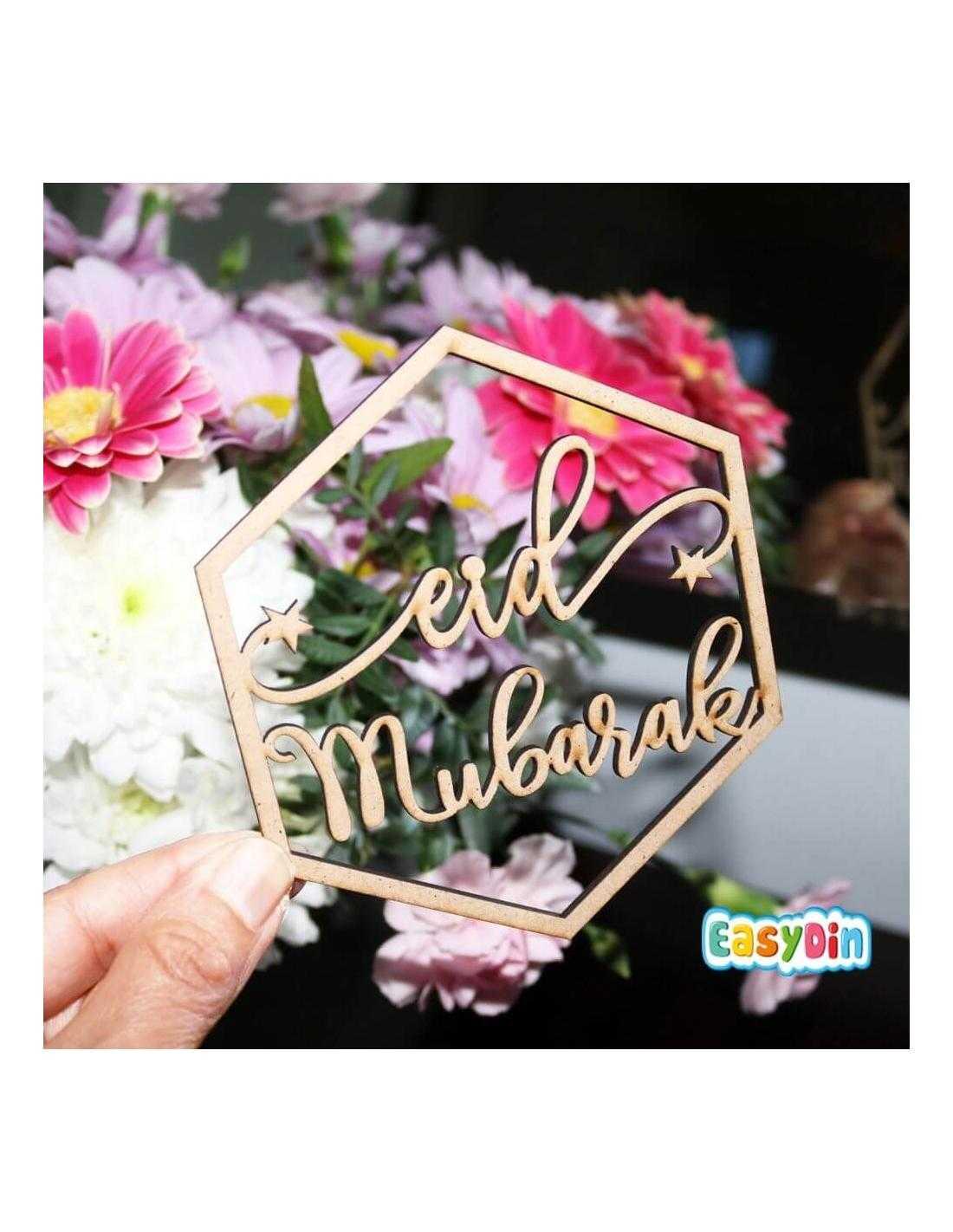 Ornements Eid Mubarek