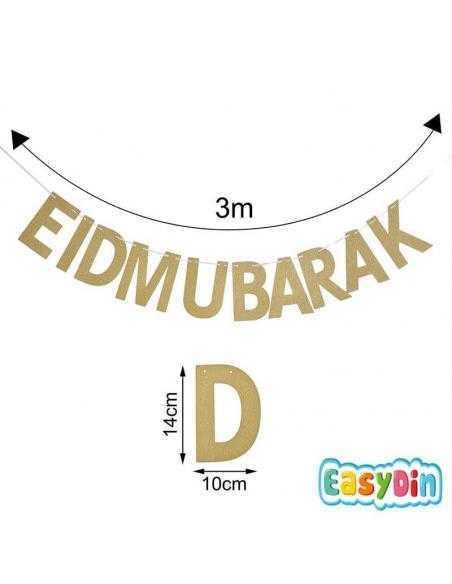 Guilande décoration EID MUBARAK