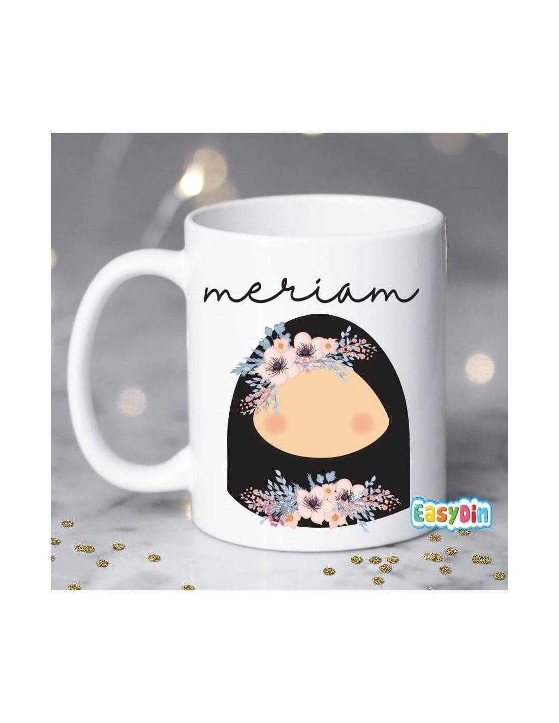 Sitar jilbab niqab cadeau mug prenom original