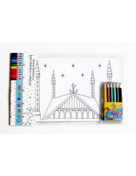 coloriage islamique