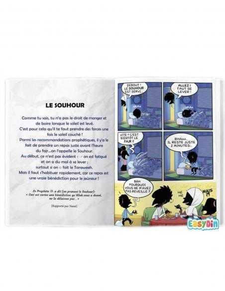Le livre BDOUIN le moi béni de ramadan