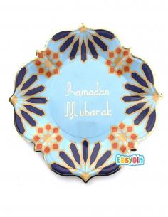 assiette ramadan moubarak decoration ramadan