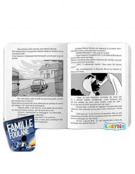 livre pour enfant la famille foulane bdoin