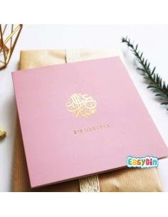 Carte Eid Mubarak Rose