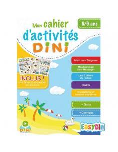 Cahier d'activités Dini 6-9ans