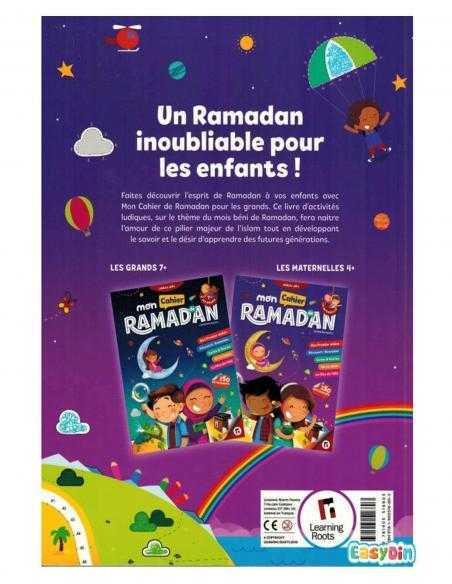 cahier d'activité pour les enfants ramadan